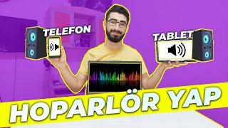 Tablet ya da Telefonu Bilgisayar İçin Hoparlör Olarak Kullanma - AudioRelay