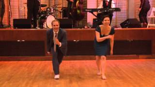 Video Skye Humphries & Naomi Uyama performing at Uptown Swing Dance with Gordon Webster (2013)