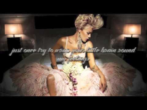 Pink- True Love ft Lily Allen (lyrics)