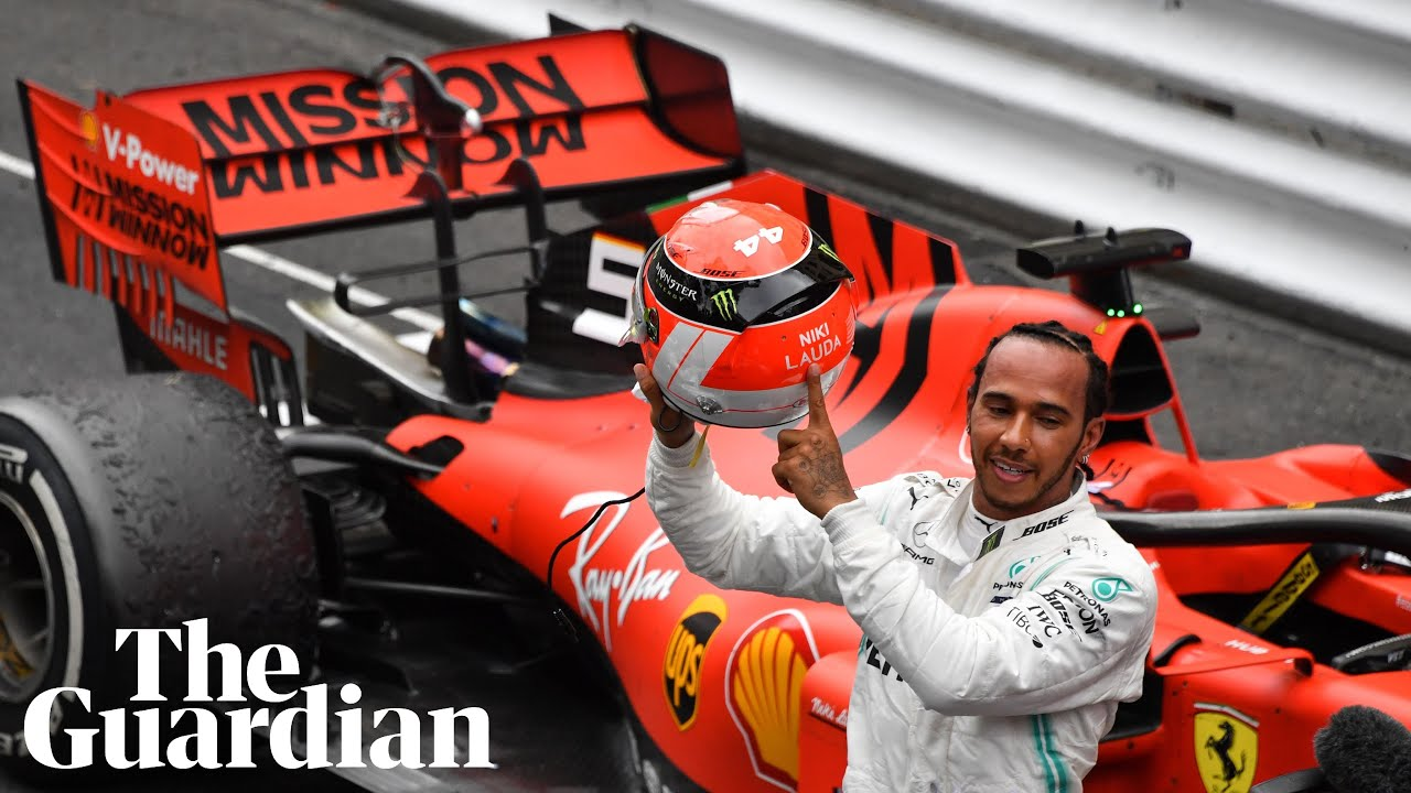 Niki Lauda was 'racing with me' during Monaco win, says Lewis Hamilton