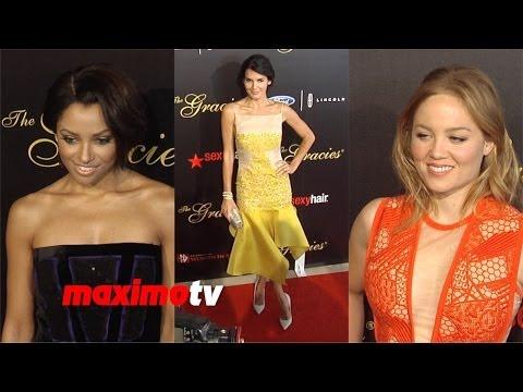 Angie Harmon, Kat Graham, Erika Christensen | 2014 Gracie Awards | Red Carpet ARRIVALS