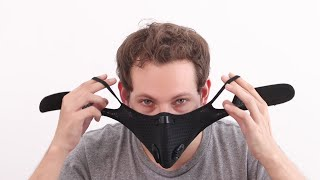 Mask With Filters, Washable With 6 Carbon Filters