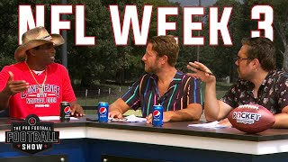 Deion Sanders, Dave Portnoy & Big Cat Enter NFL HYPERDRIVE — Pro Football Football Show Week 3