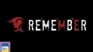 Remember: A Horror Puzzle Game - iOS / Android Gameplay Walkthrough Part 1 (by David White)