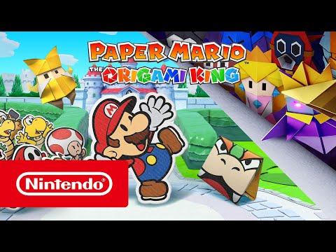 Paper Mario: The Origami King - In arrivo il 17 luglio! (Nintendo Switch)