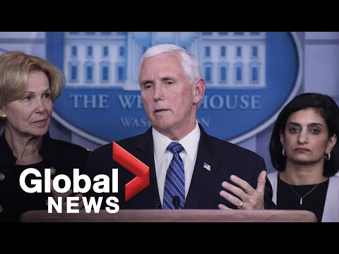 Coronavirus outbreak: Mike Pence discusses U.S. response to COVID-19