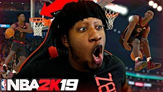 ZION WILLIAMSON Turns Into VINCE CARTER And DESTROYS The NBA DUNK CONTEST! - NBA2K19 Dunk Contest