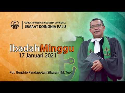Ibadah Minggu, 17 Januari 2021