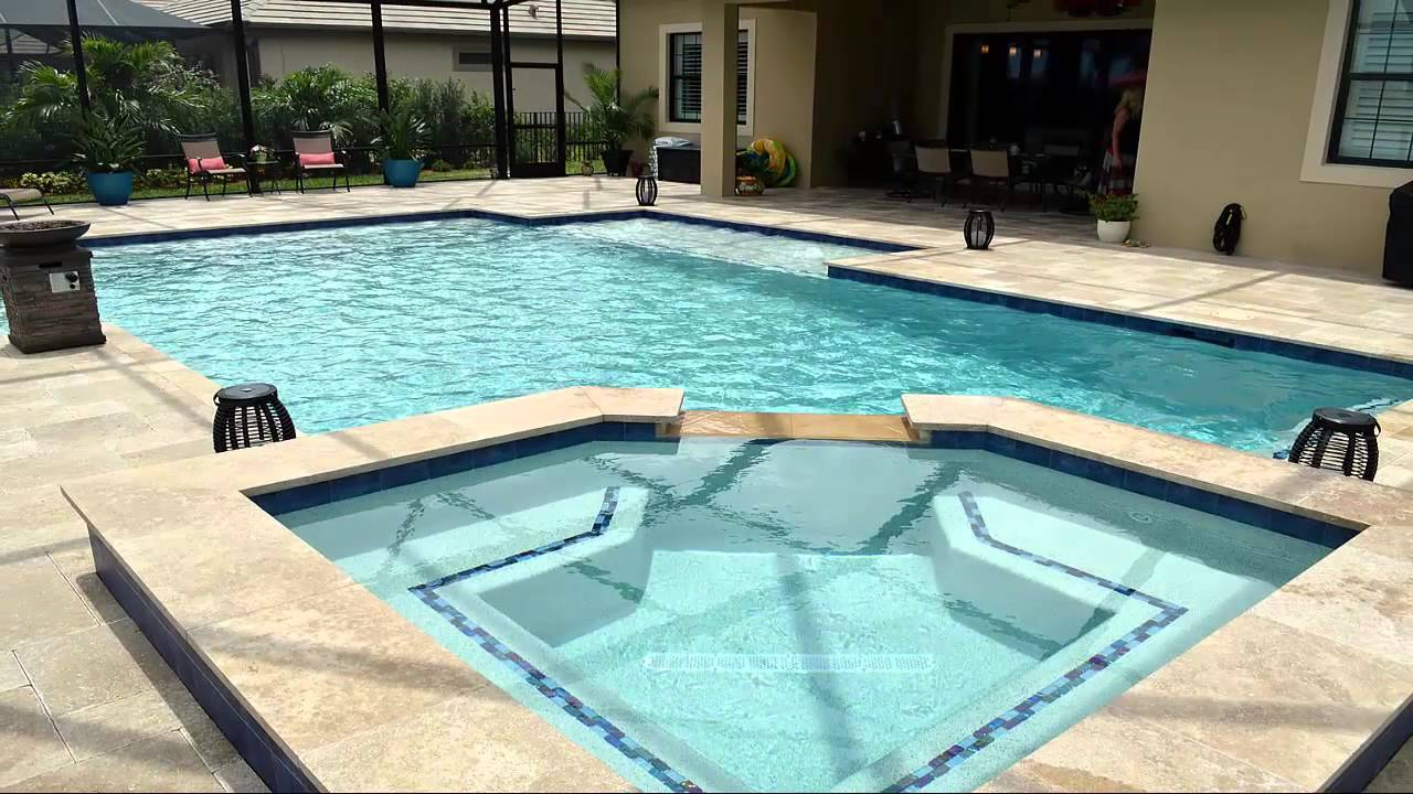 New Swimming Pool From Treasure Pools Wellington Fl Youtube