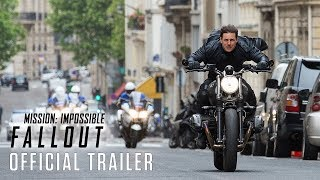 Mission: Impossible - Fallout | HD trailer - UPInl