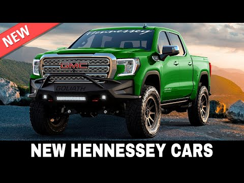 10 New Hennessey Performance Cars Modified by Best American Auto Experts