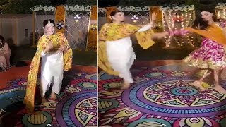 Minal Khan Dance on Deewani Mastani Song on Aiman Khan Dholki Event in Lahore