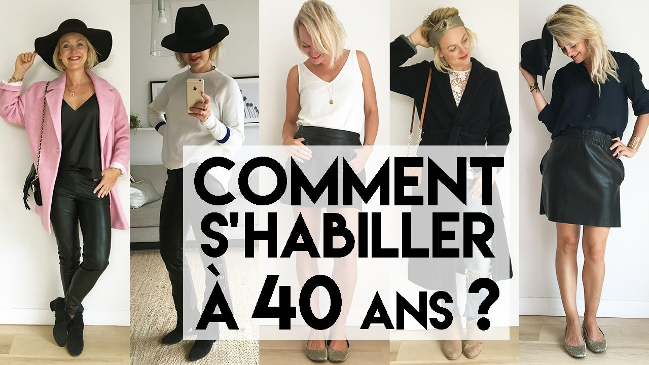de2e8f6e01 Comment s'habiller à 40 ans ? - YouTube