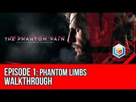 Metal Gear Solid V: The Phantom Pain - Mission 1: Phantom Limbs Walkthrough Let's Play Gameplay