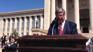 Superintendent Keith Ballard Speaks During Education Funding Rally at the Capitol