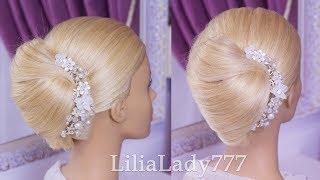 Прически.Красивая и Легкая Прическа за 2 минуты.Beautiful Hairstyles