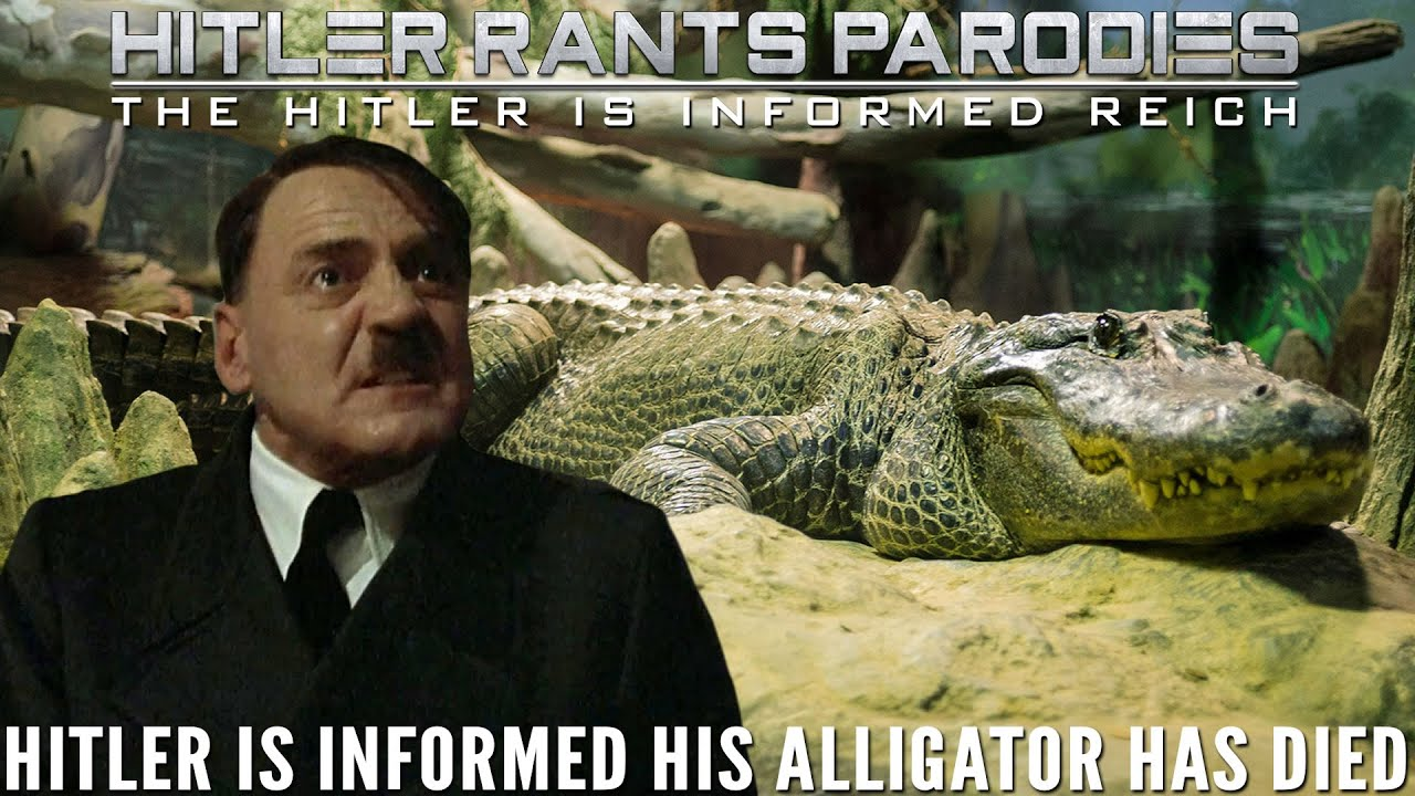 Hitler is informed his alligator has died
