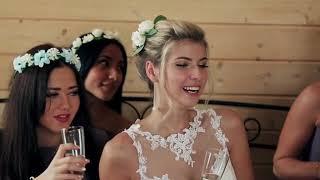 Свадьба Альфреда и Алины в Орловской усадьбе