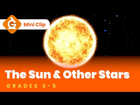 sun-&-stars- -science-lesson-for-kids- -3rd,-4th-and-5th-grade