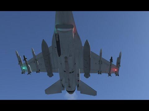 Falcon BMS 4.33 AIM-120 / AIM-9 Tutorial (Basics) Deutsch / German