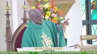 Twenty-fifth Sunday in Ordinary Time // 7 AM Mass 09.19.21