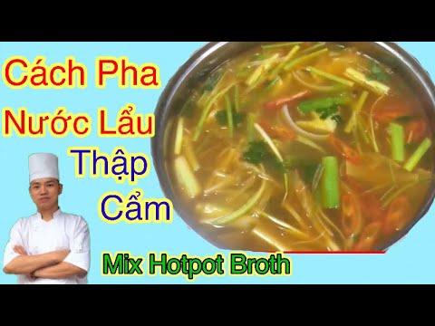 cách pha nước lẩu thập cẩm-soba nguyen-mixed hotpot broth