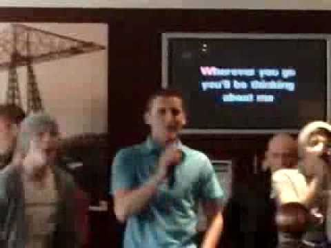 gaz and the lads karaoke