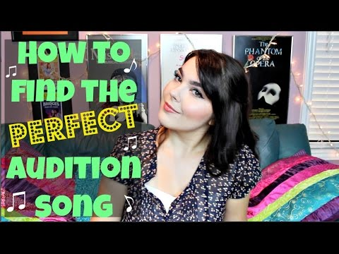 How to Find Audition Songs for Musicals