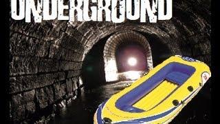 Floating down an Underground Tunnel in a dinghy!! weeeeeeeee