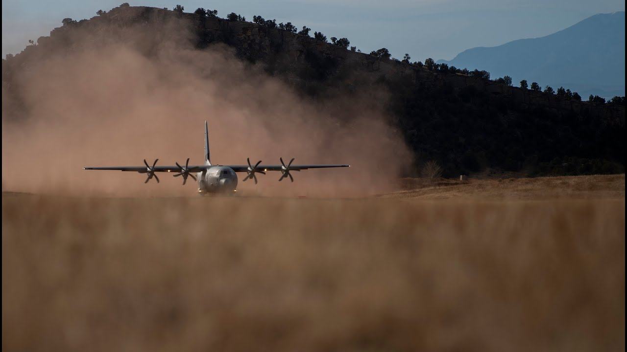 C-130J Super Hercules - Operation Snow Claw