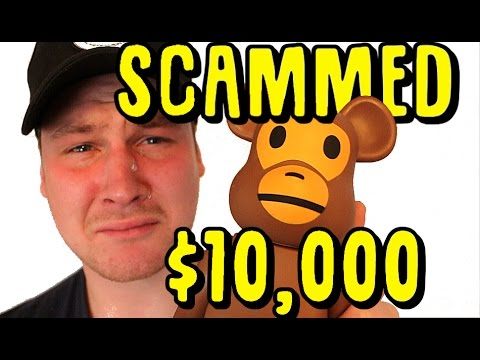 I GOT SCAMMED $10,000 ON BAPE.. YOU WONT BELIEVE THIS..