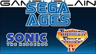 First Sega Ages Games Coming in August & Price Revealed (Sonic 1 & Thunder Force IV)