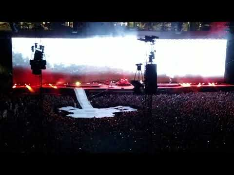 """Bullet The Blue Sky"" U2 - Lucas Oil Stadium, Indianapolis, IN 09/10/17"