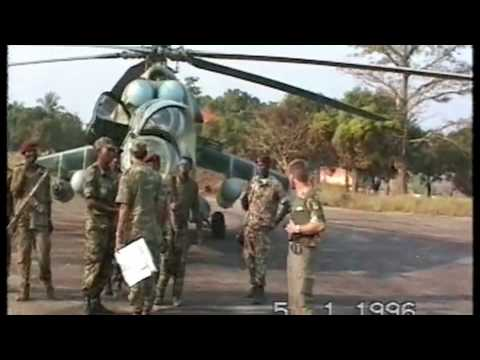 Mi24 HIND Sierra Leone 1995/96