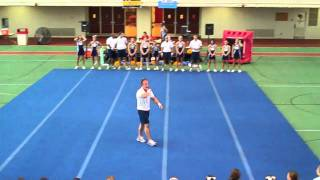 2010 ISU UCA Staff  demos  Hip hop 1 and Extreme Routine!