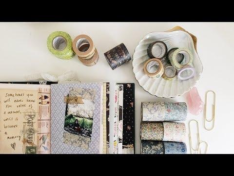 10 Ways To Use Washi Tape In Your Journals | Washi Unboxing | Washi Wednesday