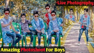 Gambar cover Photoshoot With Amazing Pose || 2019 5 New Stylish Pose For Boys || SK EDITZ