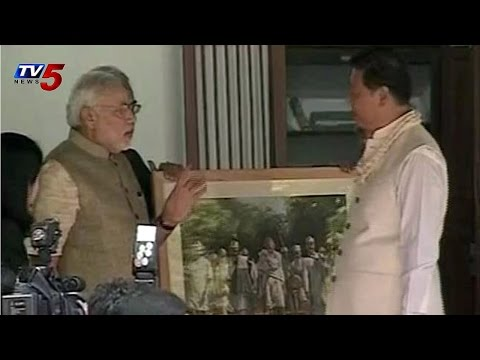 Modi,Jinping Visit Sabarmati Ashram : TV5 News