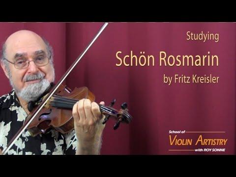 Masterclass -- Schön Rosmarin with Roy Sonne