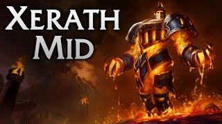 Scorched Earth Xerath Mid - Full Game Commentary