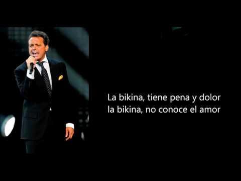 LA BIKINA Luis Miguel letra