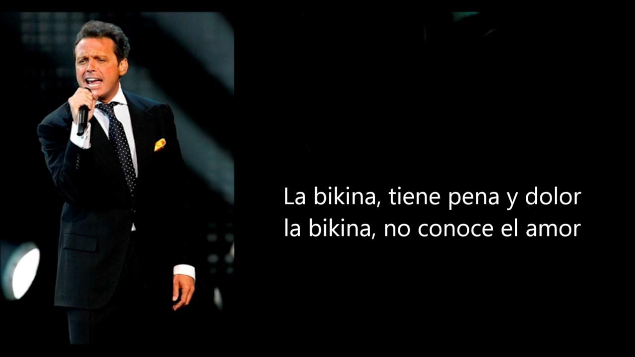 La Bikina Acordes Y Letra Para Guitarra Ukulele Bajo Y Piano Luis Miguel