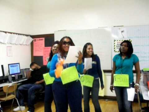 Kiara, Quita, Lannie & Diamond We are Young Money!