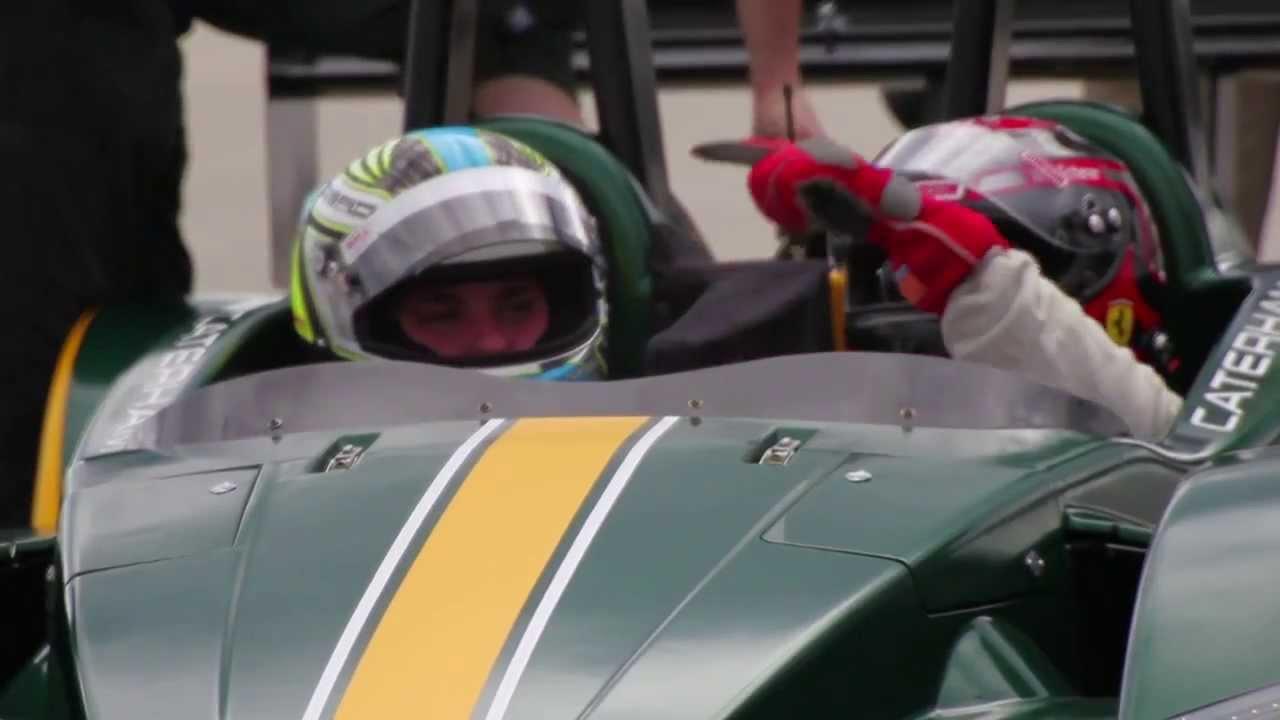 Dyson Caterham Sp 300 R Customer Day At Palm Beach International Raceway