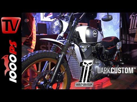 Harley-Davidson Dark Custom - Battle of the Kings Bikes