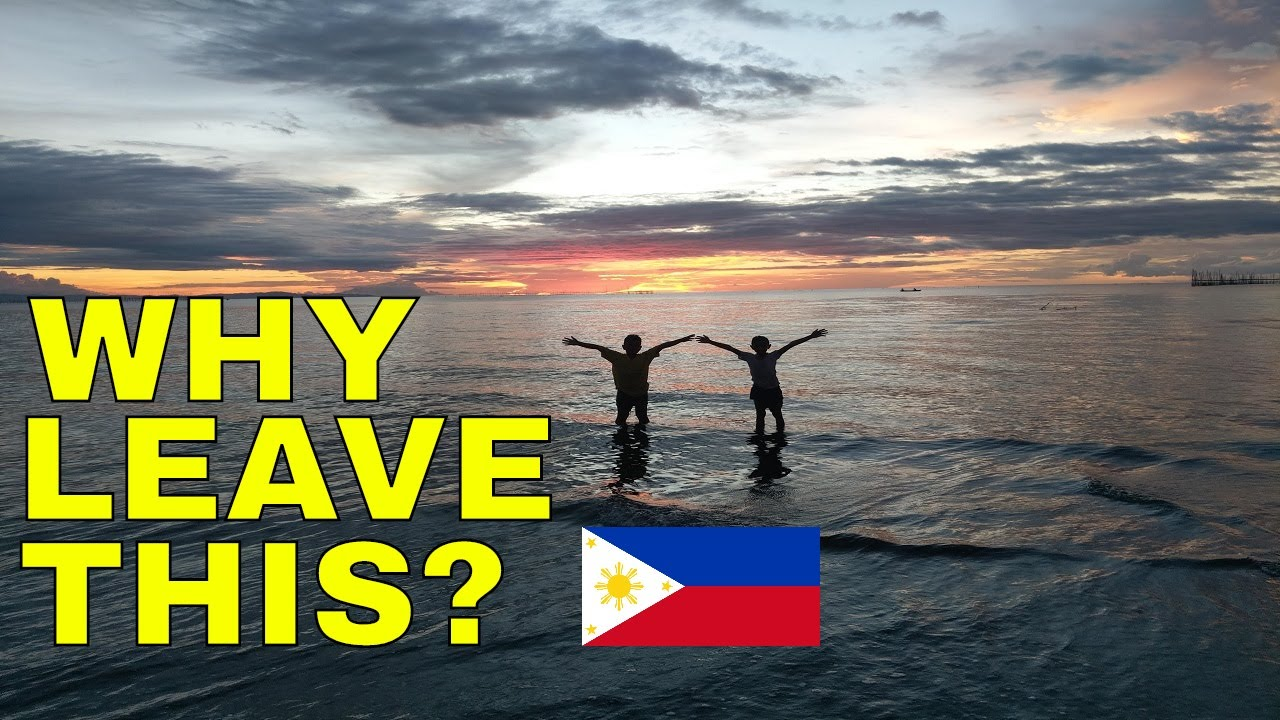 Leaving a peaceful country (PHILIPPINES) for what?