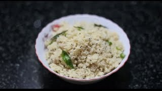 Kerala Style Upma Video Recipe