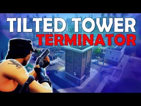 TILTED TOWER TERMINATOR | 20 KILLS | TRIPLE PUMP - (Fortnite Battle Royale)