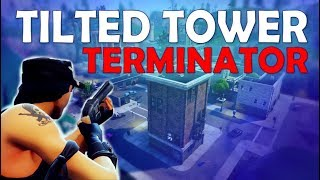 TILTED TOWER TERMINATOR | 20 KILLS | TRIPLE PUMP - (Fortnite Battle Royale)