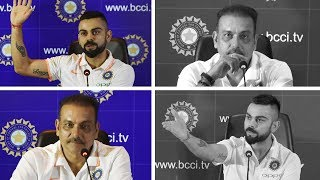 Kohli and Shastri - Before and after series defeats | Press Conference Compilation